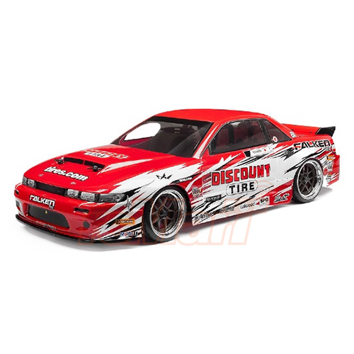 HPI Racing 1/10 NITRO DRIFT RS4 3 NISSAN Silvia S13 rtr rc car