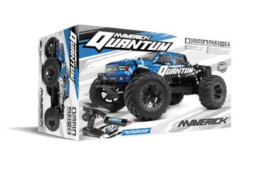 Maverick MT 1/10 4WD Brushed rc Monster Truck Blue complete