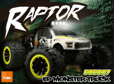 Team Magic E6 rtr Raptor Brushless Monster Truck large
