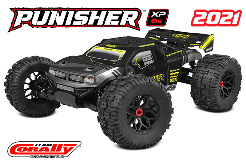 Team Corally Punisher 1/8 mt rtr