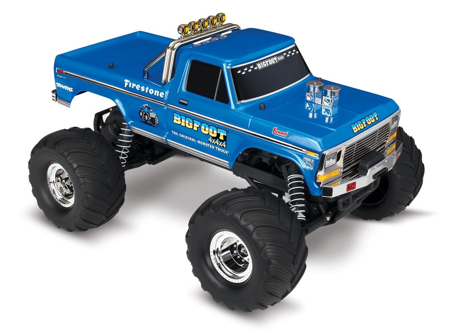 Traxxas Bigfoot No1 EP MT rtr complete